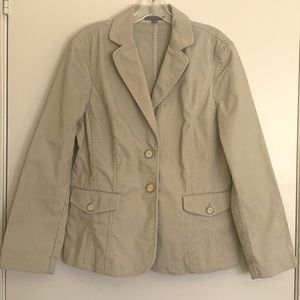 Ann Taylor Corduroy Blazer Jacket